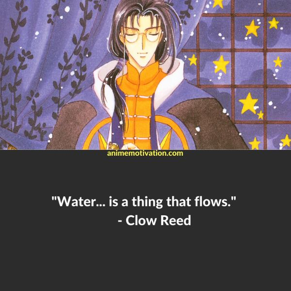 clow reed quotes cardcaptor