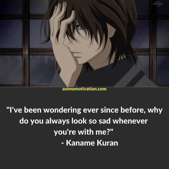 64+ Of The Greatest Vampire Knight Quotes About Life & Romance 28