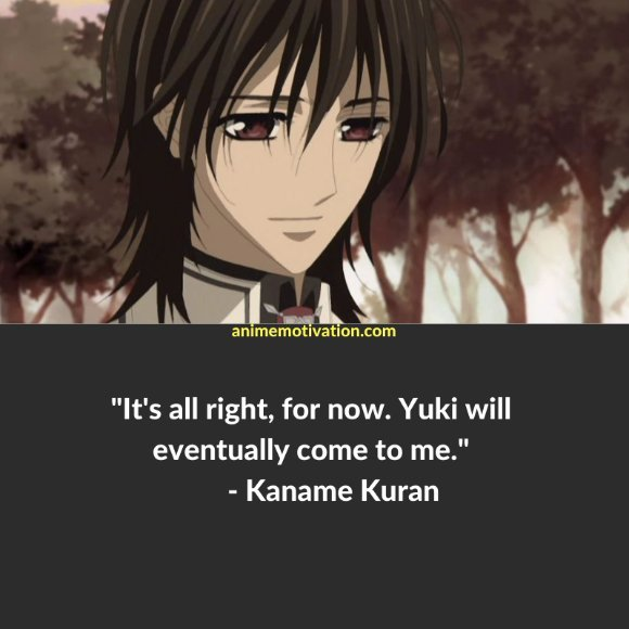 64+ Of The Greatest Vampire Knight Quotes About Life & Romance 30