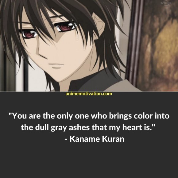 64+ Of The Greatest Vampire Knight Quotes About Life & Romance 32