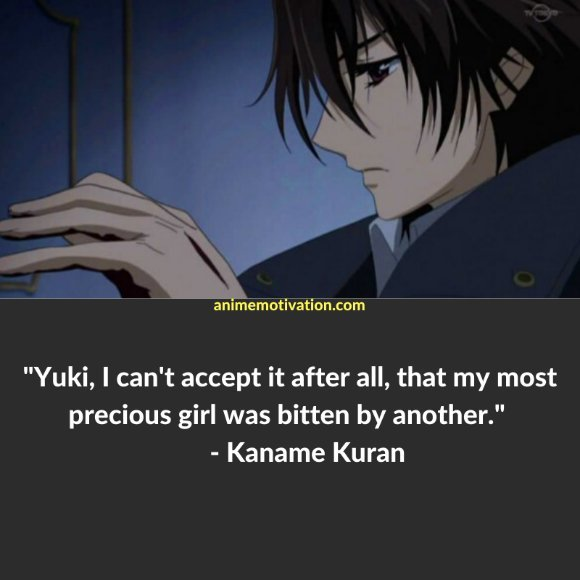 64+ Of The Greatest Vampire Knight Quotes About Life & Romance 36