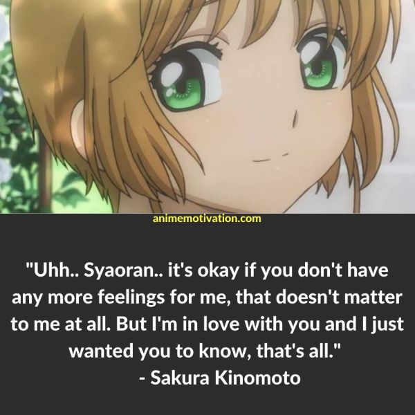 47+ Of The Greatest Cardcaptor Sakura Quotes That Are Timeless 19
