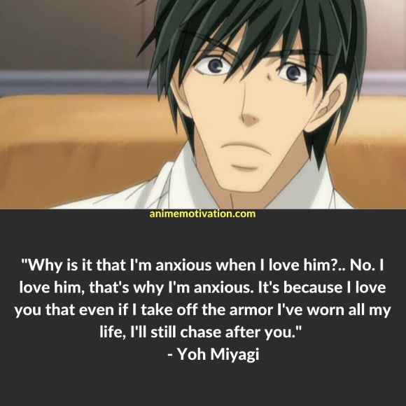 19+ Meaningful Junjou Romantica Quotes About Love & Romance 1