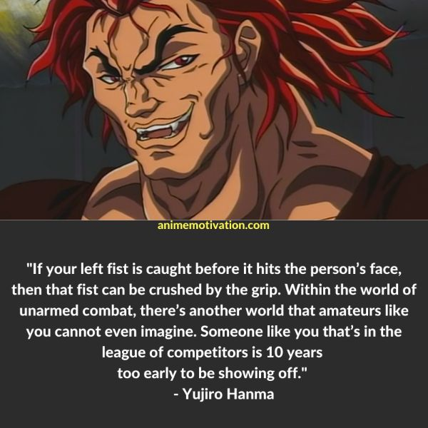 18+ GREAT Baki The Grappler Quotes Fans Will Love 4