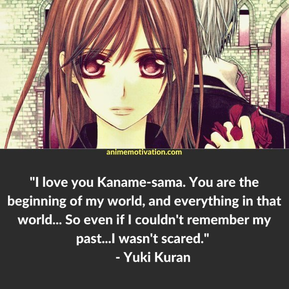 64+ Of The Greatest Vampire Knight Quotes About Life & Romance 3