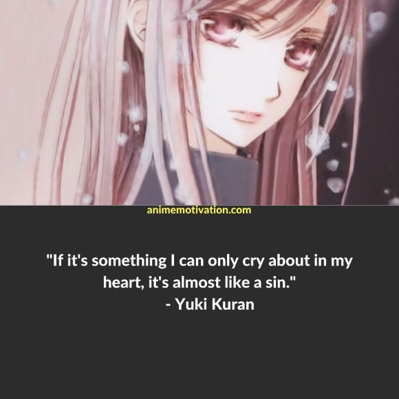 64+ Of The Greatest Vampire Knight Quotes About Life & Romance 7