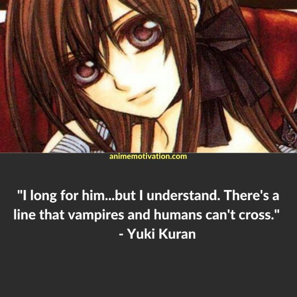 64+ Of The Greatest Vampire Knight Quotes About Life & Romance 1