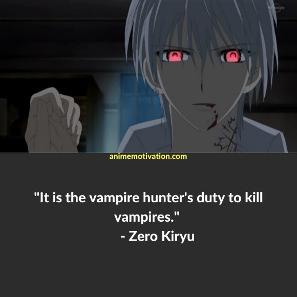 64+ Of The Greatest Vampire Knight Quotes About Life & Romance 58