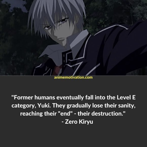 64+ Of The Greatest Vampire Knight Quotes About Life & Romance 55