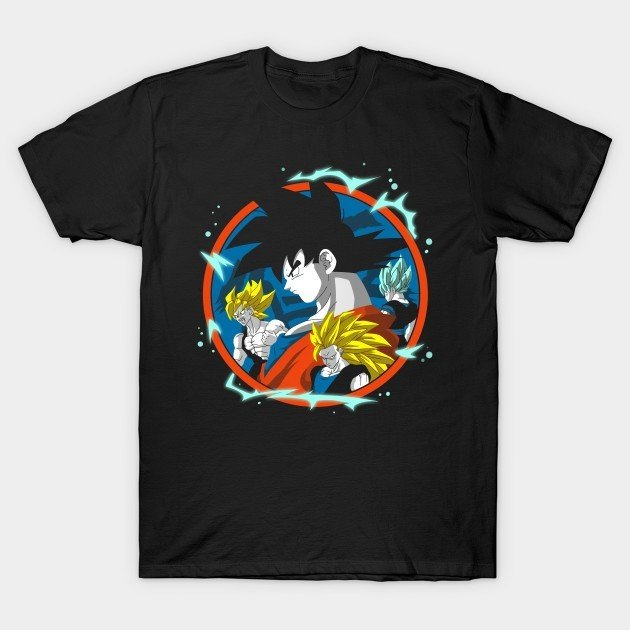 27+ GREAT Dragon Ball Z T Shirts For Your Wardrobe 3