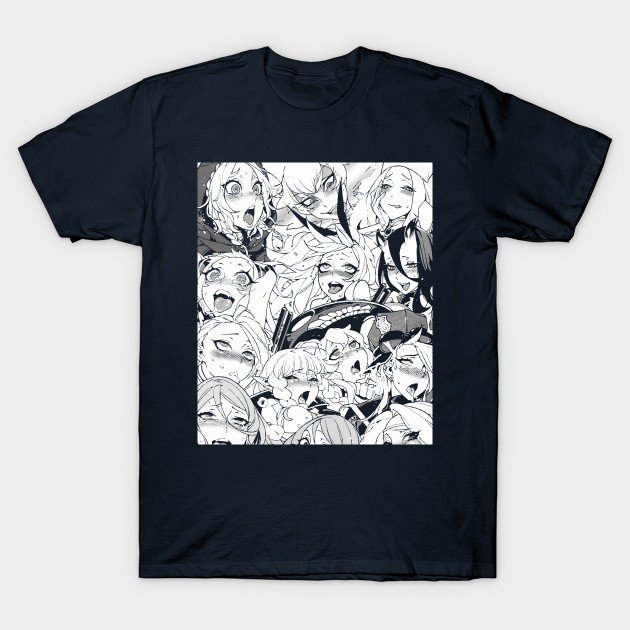 The 31+ BEST Ahegao T Shirts On Sale For Anime & Hentai Fans 12