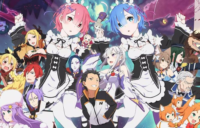 re zero series isekai