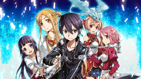 sword art online characters season 1