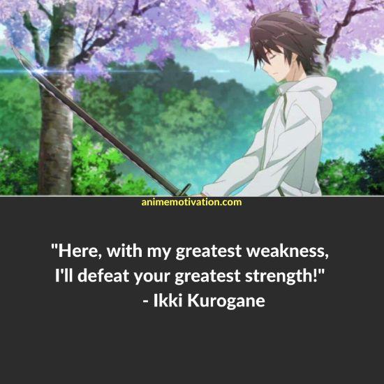 Ikki Kurogane quotes