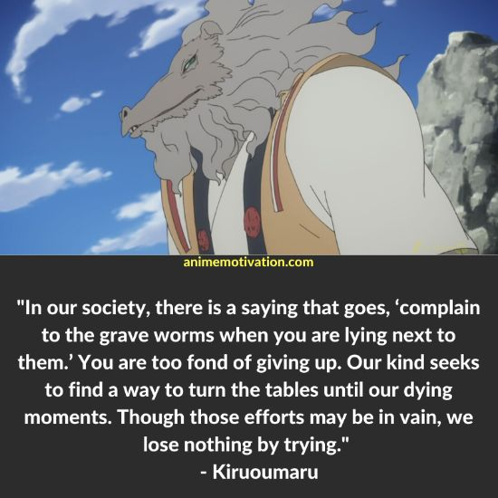 Kiruoumaru quotes Shinsekai Yori 1