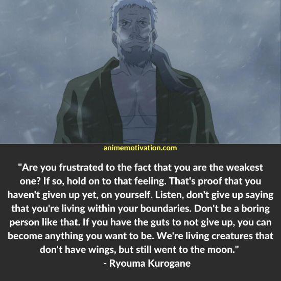 Ryouma Kurogane quotes