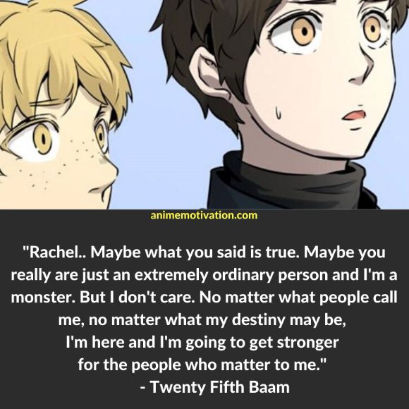 41+ Meaningful Tower Of God Quotes For Fans Of The Series 17