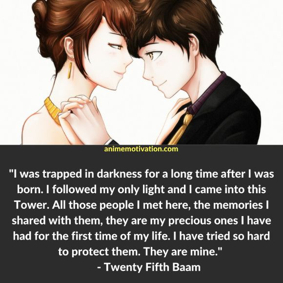 41+ Meaningful Tower Of God Quotes For Fans Of The Series 22