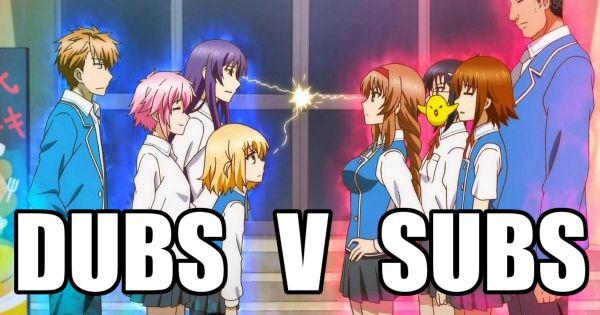 anime dubs vs subs elitists