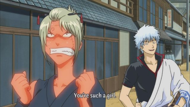 gintama youre such a girl funny moment