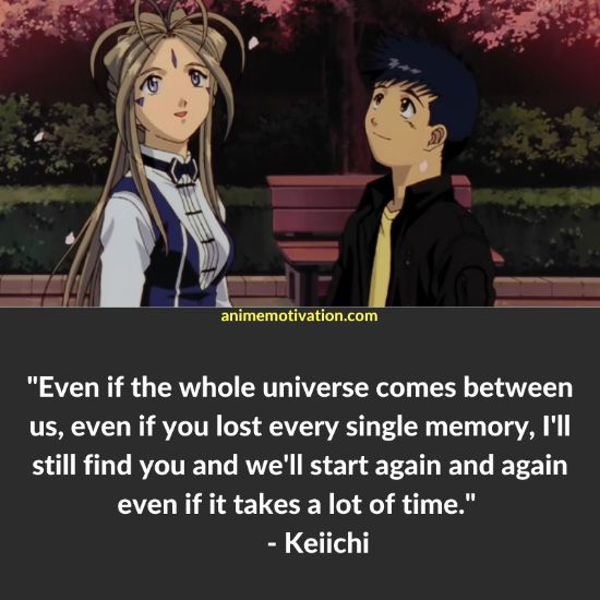 keiichi quotes oh my goddess