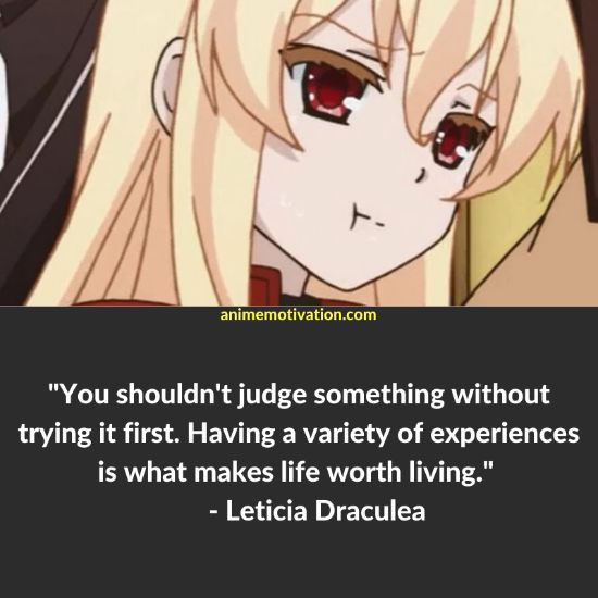 leticia draculea quotes