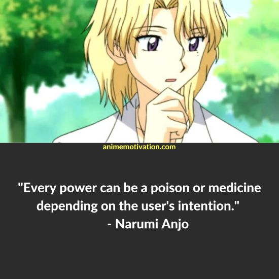 Every power can be a poison or medicine depending on the user's intention.