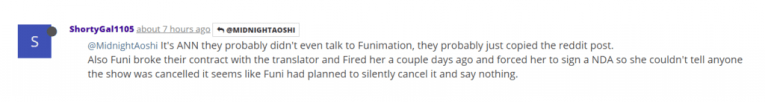 "Funimation ""Fired"" Ishuzoku Reviewers Translator, Forced To Sign NDA (Rumor) 2"