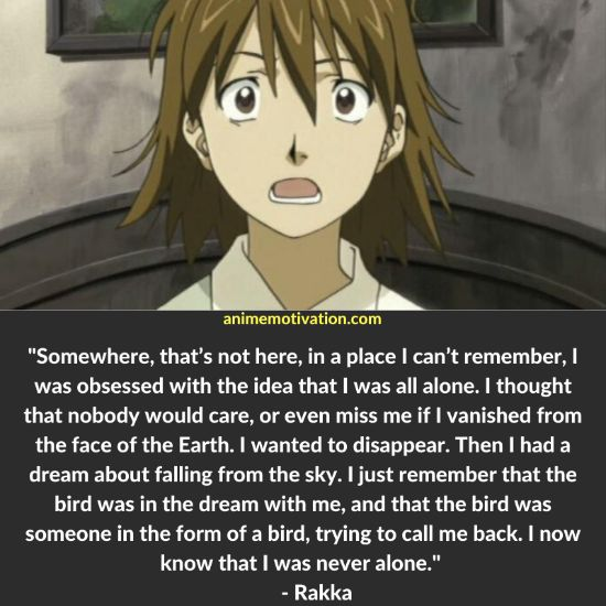 The Best List Of Haibane Renmei Quotes To Remember 1