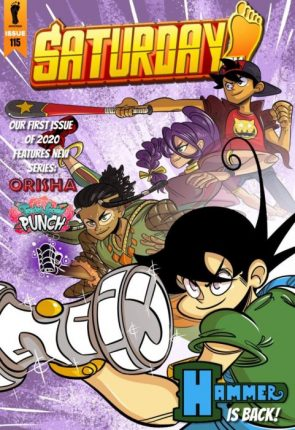 Q & A Interview With Author Of Orisha Manga (Saturday AM) 5