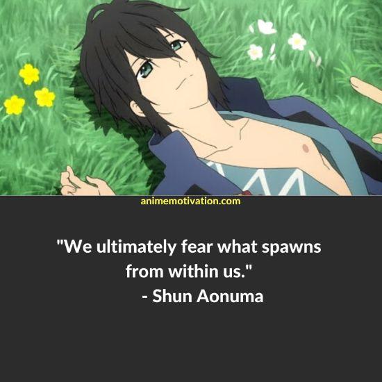 shun aonuma quotes Shinsekai Yori 1
