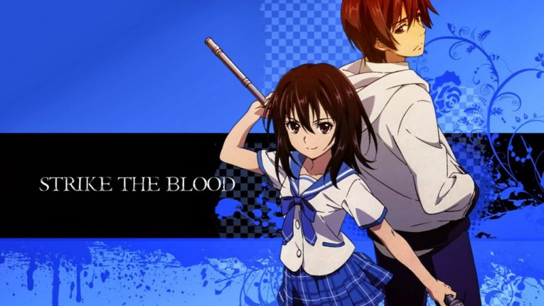 strike the blood anime series