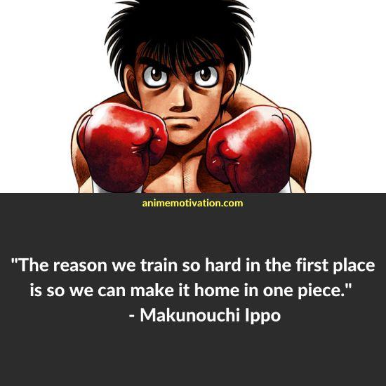 Makunouchi Ippo quotes 1