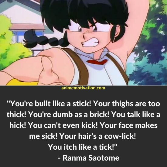 19+ Silly And Memorable Ranma 1/2 Quotes For Anime Fans 3