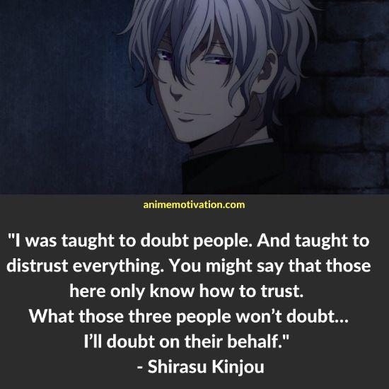 Shirasu Kinjou quotes 2