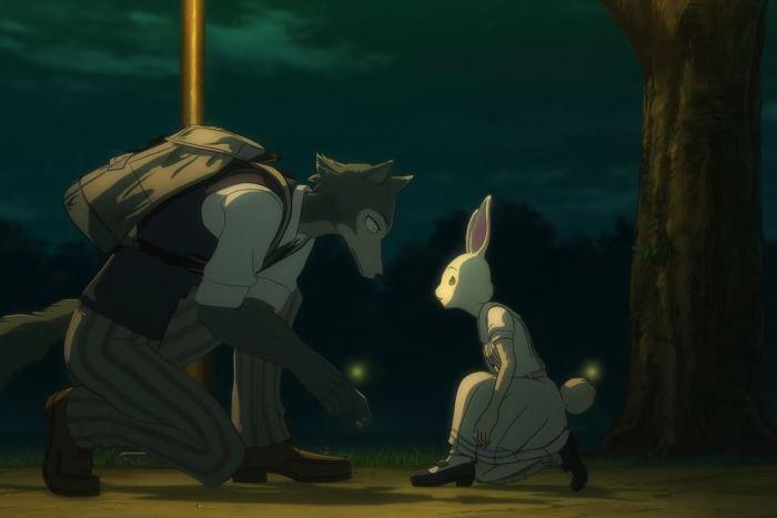 haru and legosi together