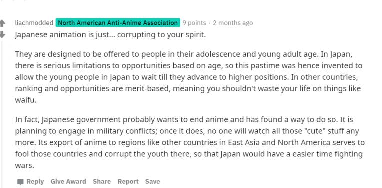 japanese anime corrupt spirit reddit