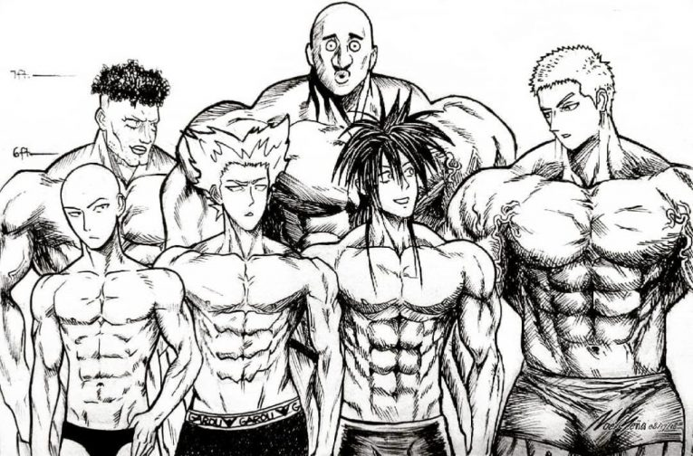 one punch man muscle characters