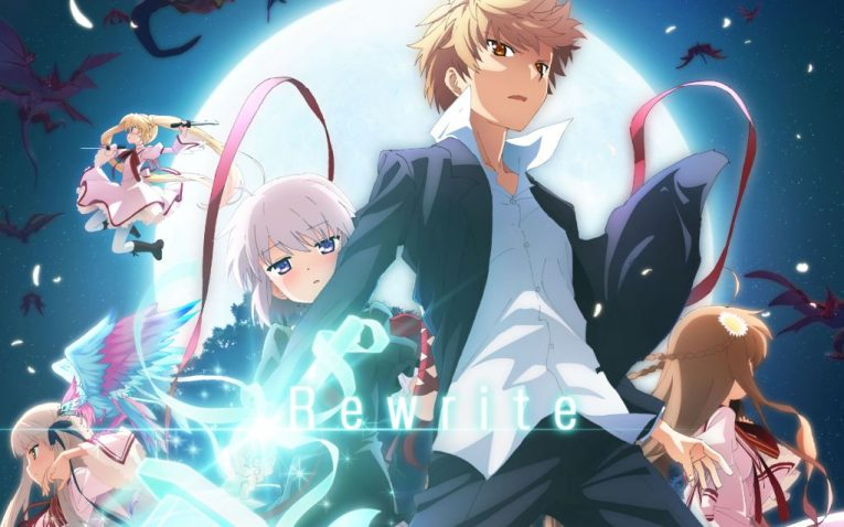 rewrite anime wallpaper