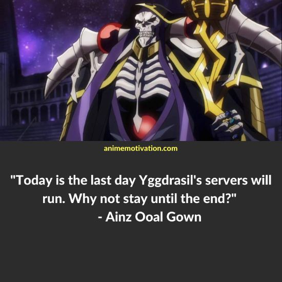 Ainz Ooal Gown quotes 4