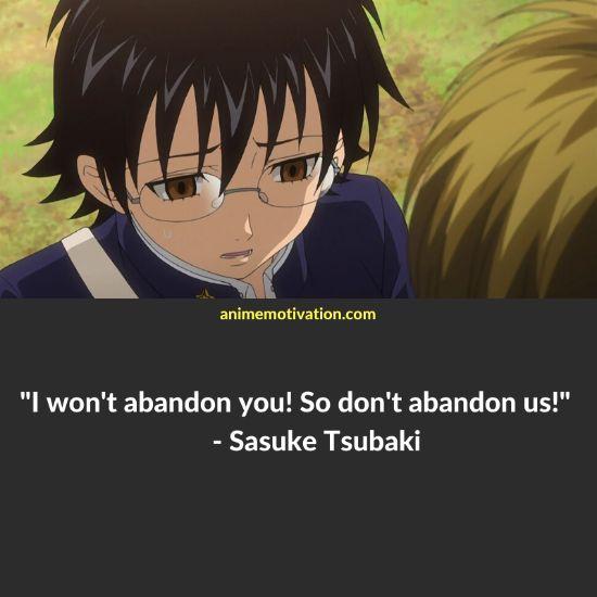 Sasuke Tsubaki quotes 1