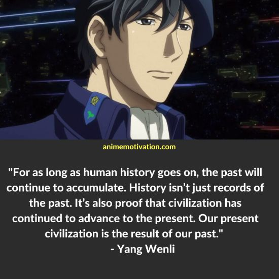 Yang Wenli quotes 1