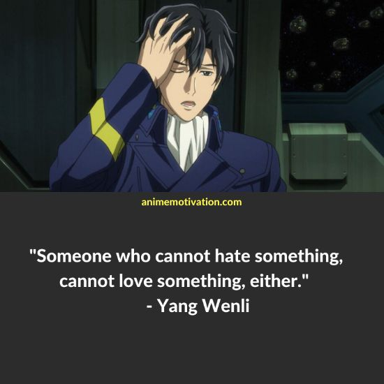 Yang Wenli quotes 5