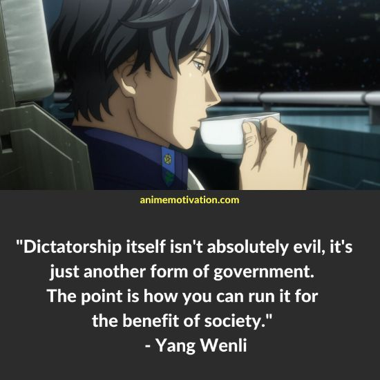 Yang Wenli quotes 6