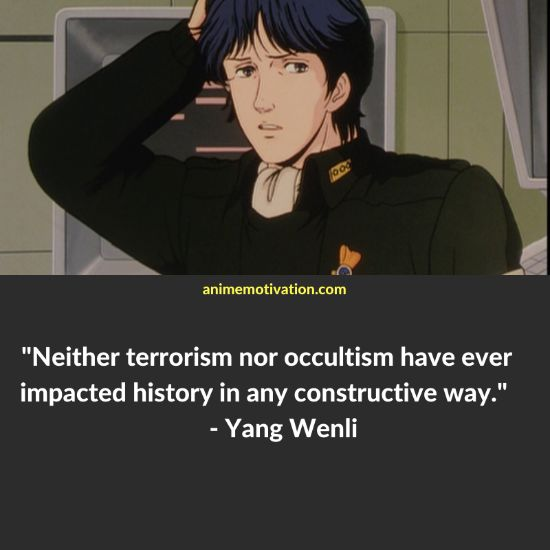Yang Wenli quotes 8