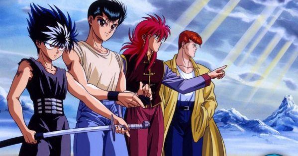 Yu Yu Hakusho anime series old school