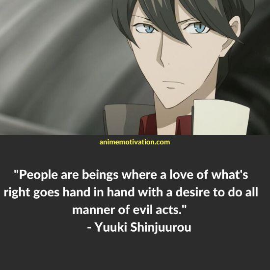 Yuuki Shinjuurou quotes 3