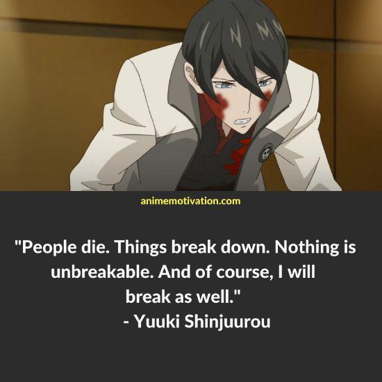 Yuuki Shinjuurou quotes