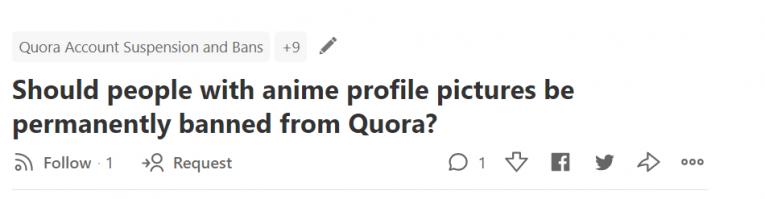 anime profile pic quora