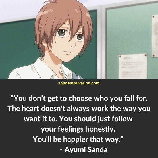 ayumi sanda quotes